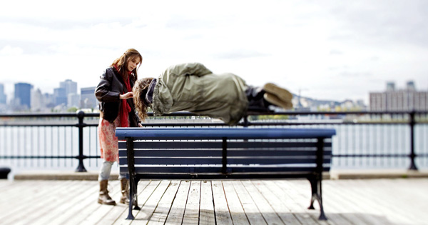 Diane Kruger and Jared Leto during a scene in Mr. Nobody
