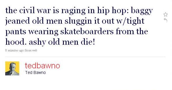 Tweet Ted Bawno